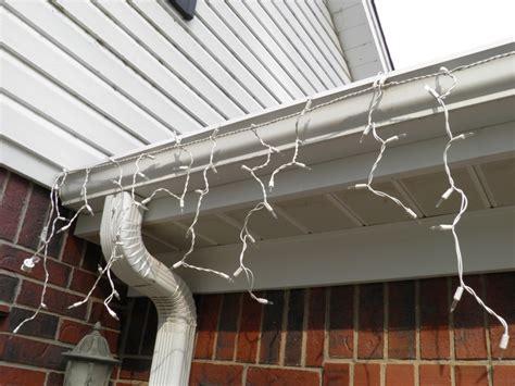 light for gutter guards light hooks for gutter guards decorating