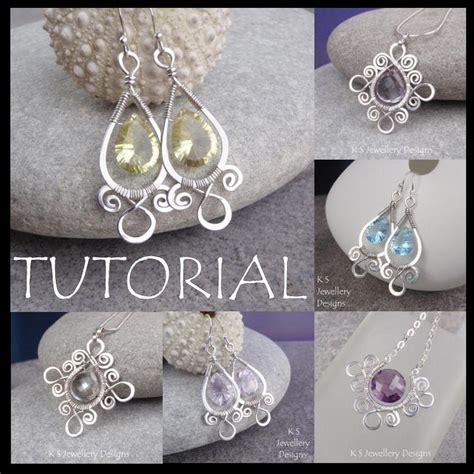 patterned wire for jewelry k s jewellery designs new wire jewelry tutorial sprial