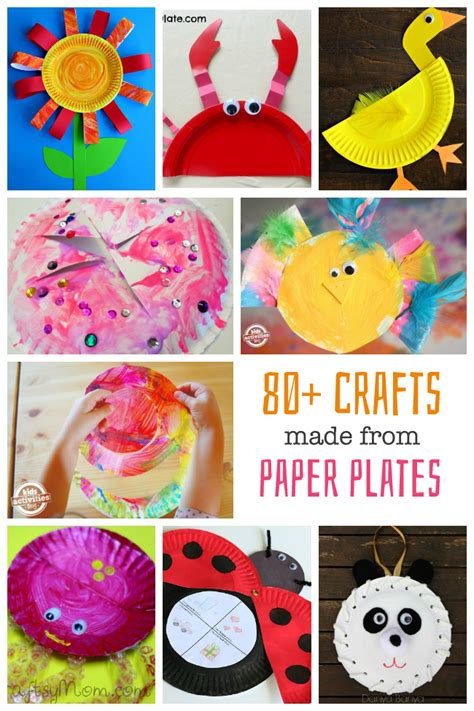paper craft for toddlers 80 paper plate crafts for