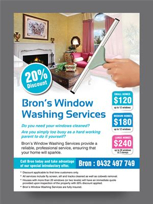 flyer design design for bronwyn marshall a company in