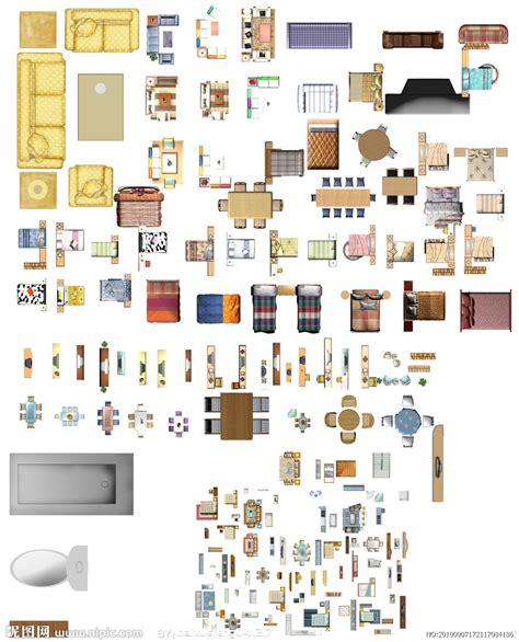Furniture Layout psd nipic com