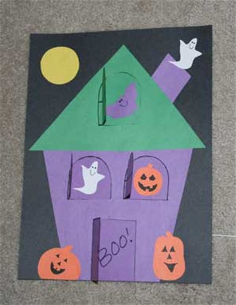 haunted house crafts for crafts for all network
