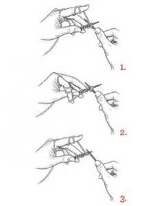how to start knitting row knitting how to martha stewart