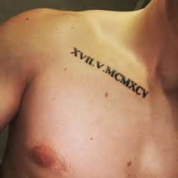 75 roman numeral tattoo ideas to inspire you