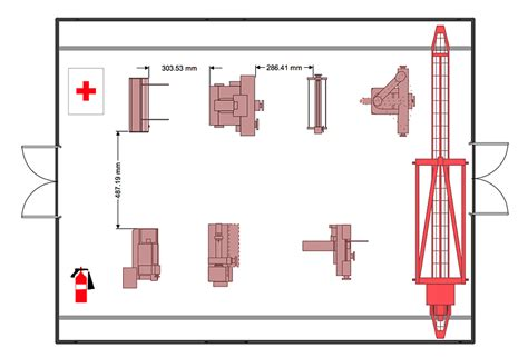 create layout factory layout floor plan plant layout plans factory
