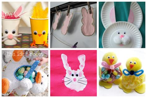 easter bunny paper crafts easter crafts food ideas