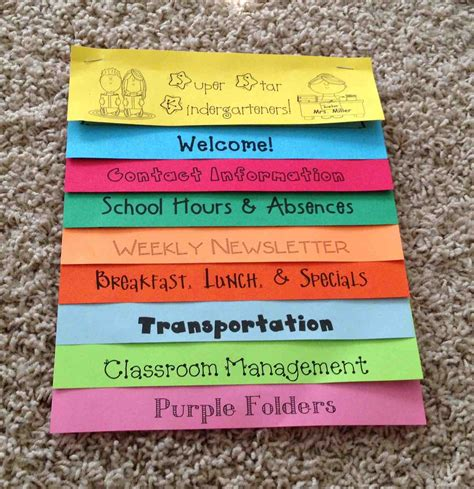 how to make a picture flip book a spoonful of learning back to school parent handbook