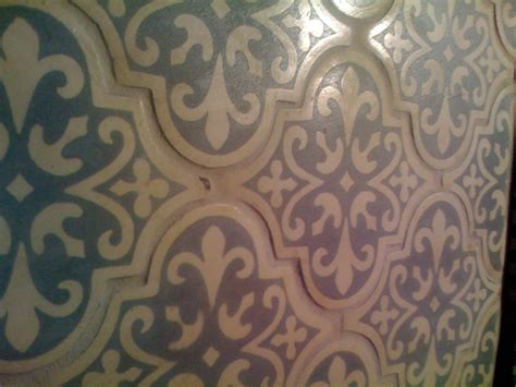 Bed Amp Bath Cool Porcelain Arabesque Tile For Wall Feature