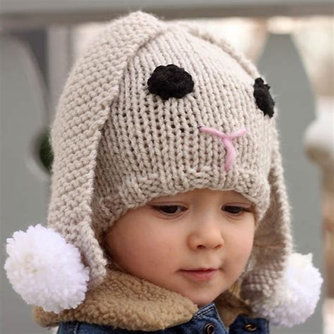 how to knit baby hat lil baby bunny hat allfreeknitting