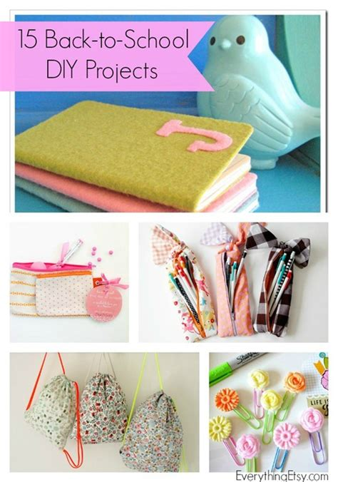 crafts for school projects 15 back to school projects diy ideas