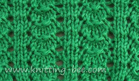 easy knitting stitches shells stitch knitting pattern knitting bee