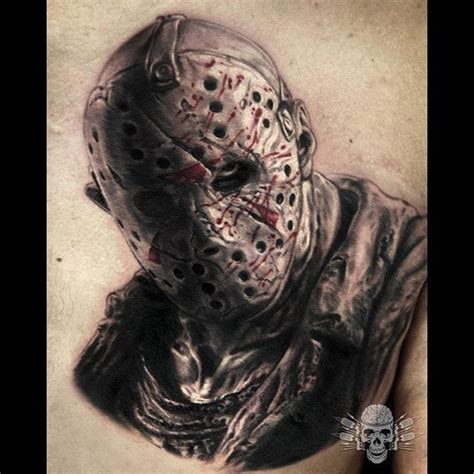 13 totally rad jason voorhees tattoos to inspire you this