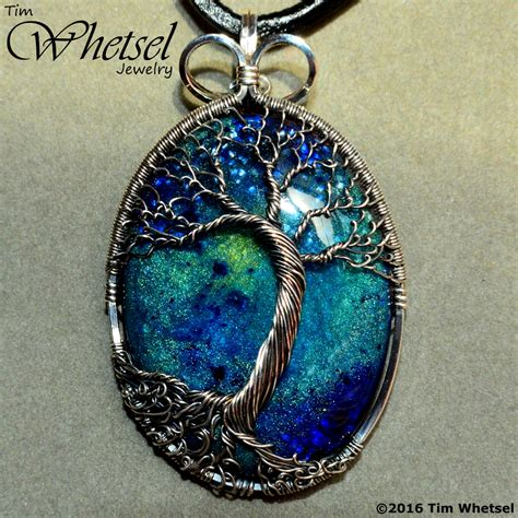 how to make tree of jewelry sterling silver wire wrap tree of pendant