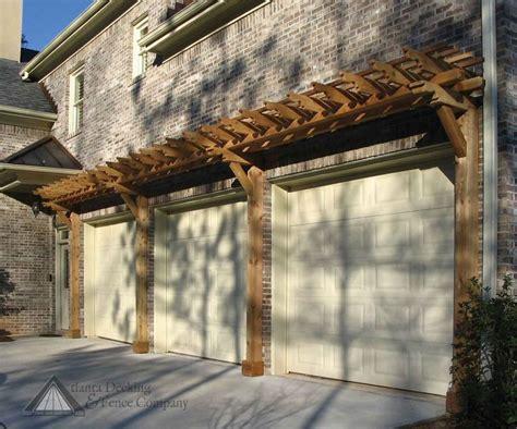pergola garage door pergola as an accent garage doors garage door