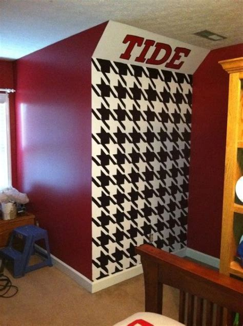 alabama decorations crimson tide themed living room roll tide relaxation