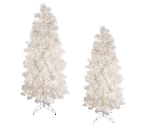 bethlehem lights tree bethlehem lights white flocked tree w ready