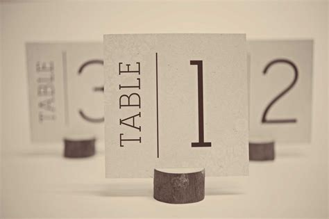 how to make table number cards free wedding table number cards