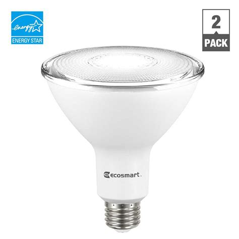 led white light bulb ecosmart 100w equivalent bright white spiral cfl light