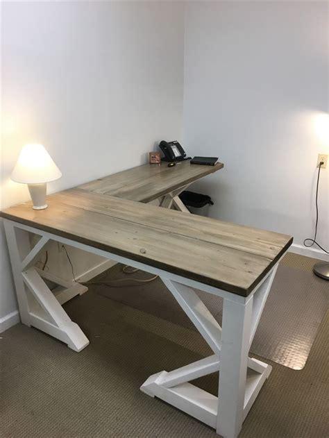 diy build a desk 25 best ideas about farmhouse desk on