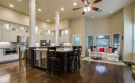 open kitchen islands 30 open concept kitchens pictures of designs layouts designing idea