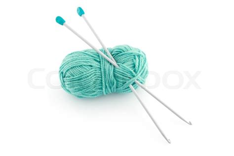 what size knitting needles for knit wool green knitting wool or yarn with silver knitting