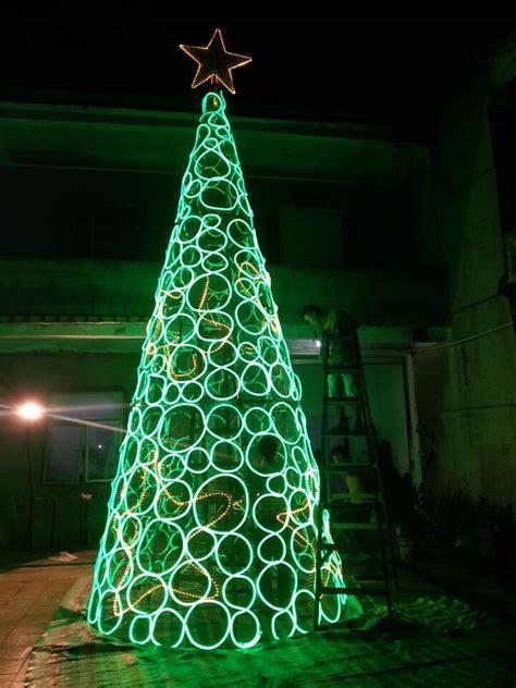 led cone tree led cone tree artificial tree