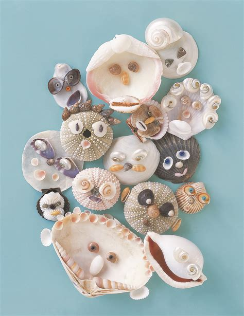 seashell crafts for seashell craft diy seashell critters