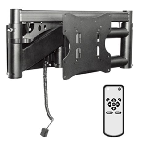 support mural tv orientable motorise