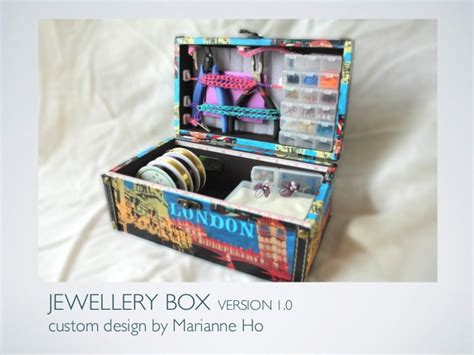 how to make custom jewelry at home diy jewellery box