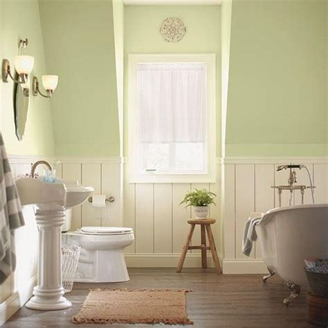 home depot paint colors for bathrooms behr wainscoting and neutral color scheme on