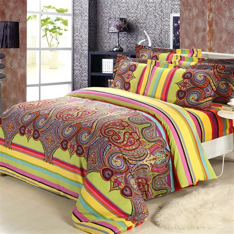 moroccan style bedding sets aliexpress buy 2015 new brushed cotton bohemian