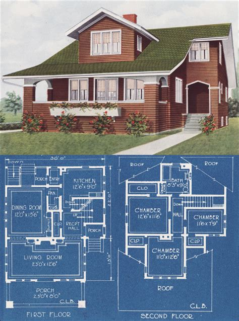 american bungalow house plans 1921 modern bungalow type house c l bowes american homes beautiful