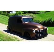 47 Chevrolet Panel Truck Street Rod Hudson And Custom