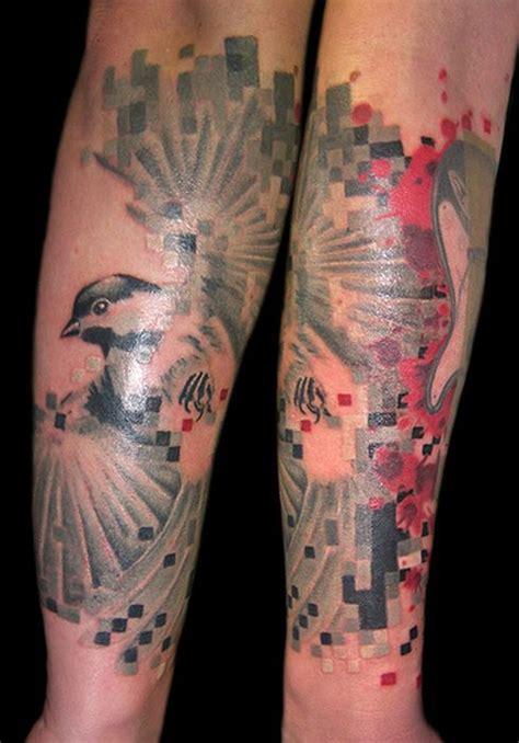 pixel art tattoos 31 pics