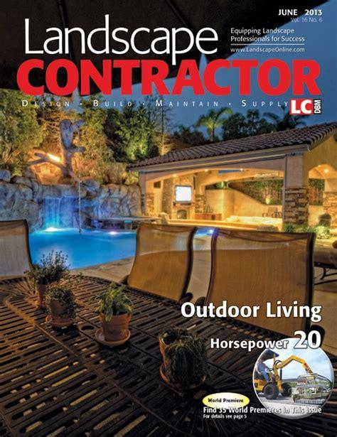 landscape contractor magazine nick martin landscape architect cover feature landscape