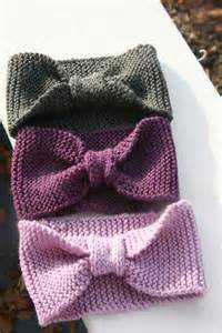 knitted headbands pin by sherrill on knit headbands