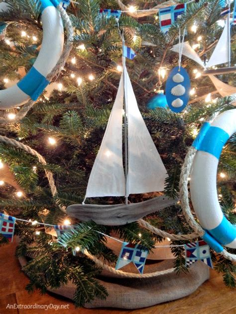 creative ways to decorate a tree unique ways to decorate a nautical tree an