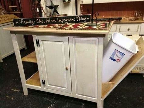 kitchen island trash build a kitchen island with trash storage diy projects for everyone