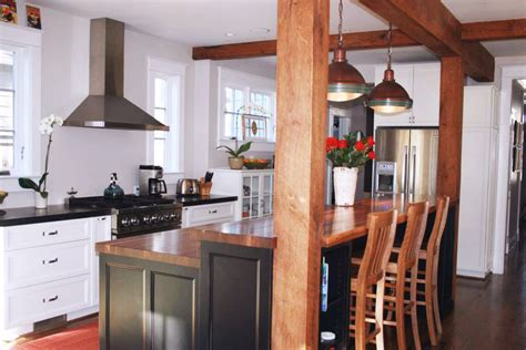 kitchen islands with bar kitchen island bar ideas with grothouse wood surfaces