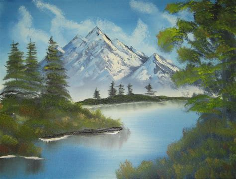 bob ross painting an evergreen tree think like a tree august 2010