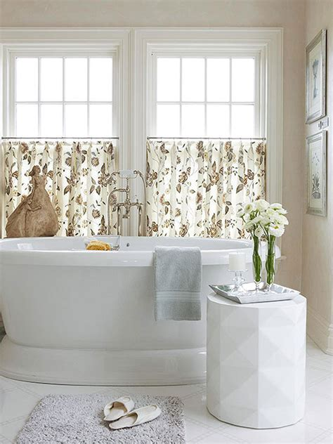 bathroom curtain ideas for windows 20 designs for bathroom window treatment house decorators collection