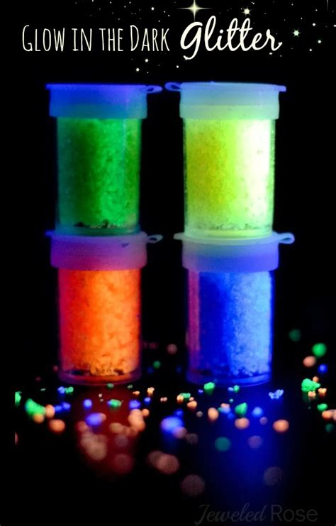 glow in the paint with glitter glow in the glitter recipe growing a jeweled