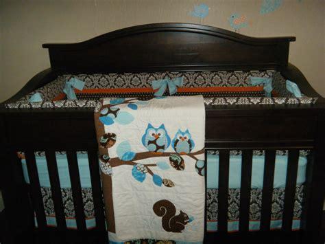 owl boy crib bedding owl boy crib bedding yellow gray owl neutral baby boy