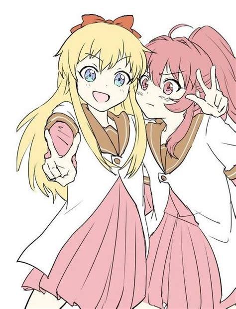 soft yuri kyoko and ayano yuru yuri