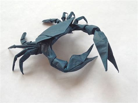 crab origami crab 1 7 origami caravan
