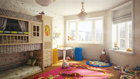 child room child s room by igor kulkov 3dtotal