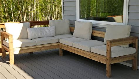 outdoor sofa sectional diy outdoor sectional sofa ryobi nation thesofa