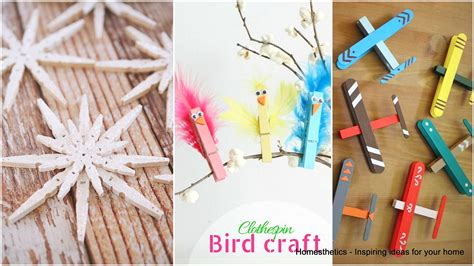 clothespin crafts for 37 ingeniously creative clothespin crafts for your home