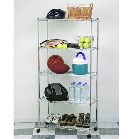 metal utility shelves wire metal shelving storage on wheels x5 tier shelf