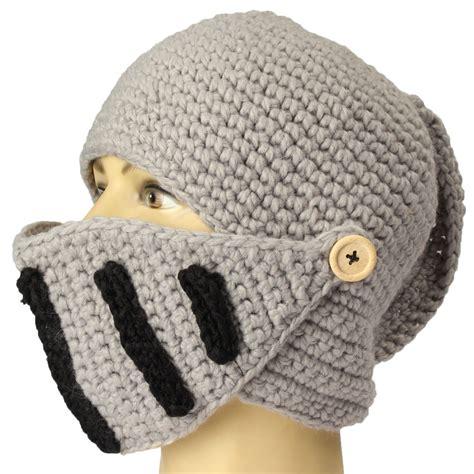 how to knit a mask unisex knit mask beard cap crochet ski mustache